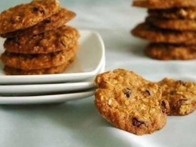 Овсяное печенье на кефире, рецепт