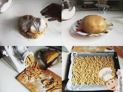 печенье через мясорубку рецепт с вареньем