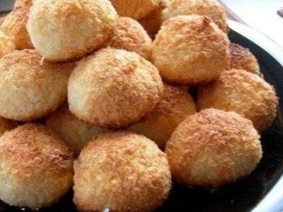 Печенье кокосанка без муки, рецепт печенья из кокосовой стружки