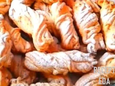 печенье из творога через мясорубку