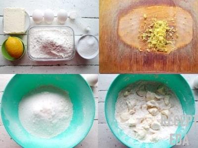 печенье хризантема как приготовить