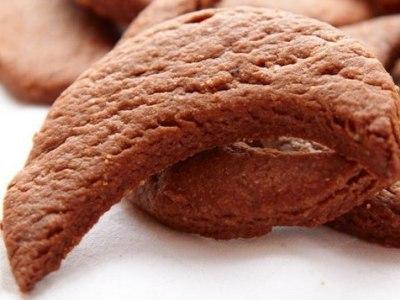 Шоколадное песочное печенье, рецепт вкусной выпечки