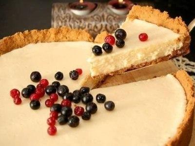 Пирог из печенья со сгущенным молоком