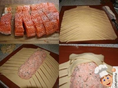 пирог с рыбой из дрожжевого теста