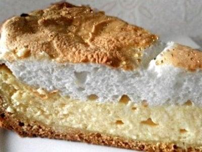 Вкусный пирог с творогом из песочного теста