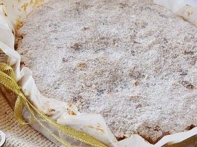 Пирог с яблоком и манкой