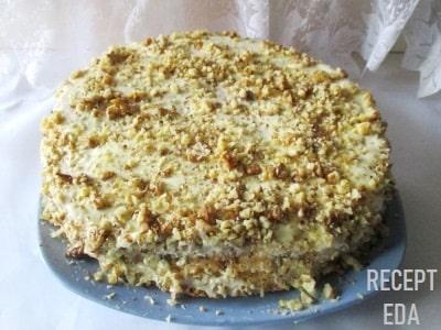 Пирог трухлявый пень, рецепт