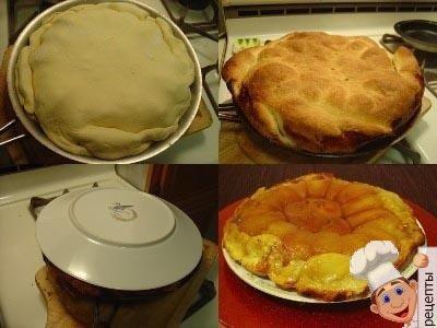яблочный пирог вверх ногами