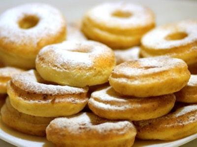 пончики из творога в духовке