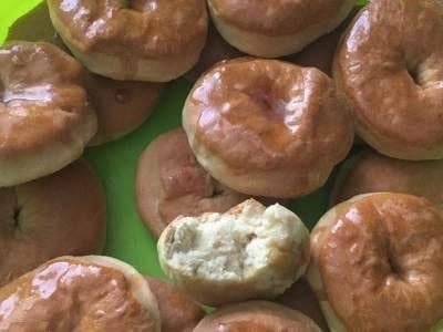 пончики в духовке на кефире