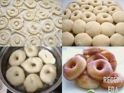 пончики во фритюре дрожжевые