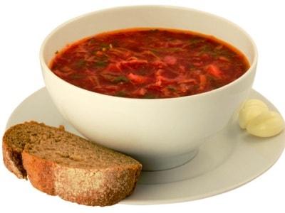 Постный борщ, рецепт, как приготовить вкусно