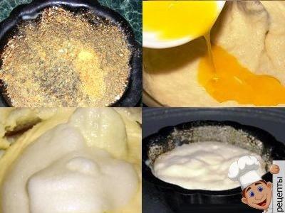 пудинг из манной каши рецепт