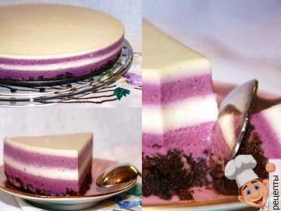 рецепт бисквитного торта с желе