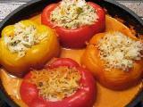 рецепт фаршированного перца запеченного в духовке