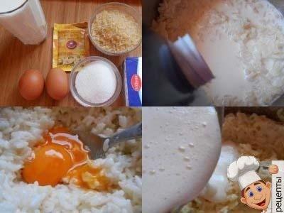 как приготовить пудинг дома, пудинг из рисовой молочной каши