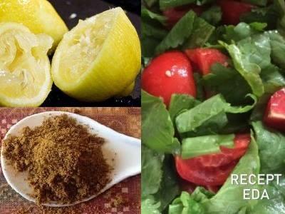 рецепты салатов с кресс салатом