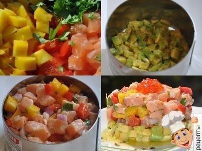 как приготовить севиче из лосося с авокадо