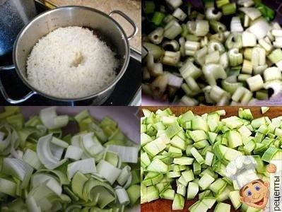 рисовый овощной суп с сельдереем