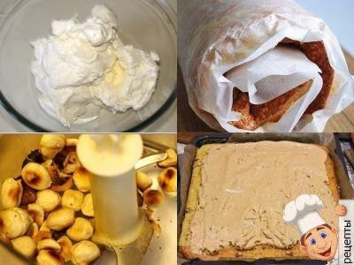 начинка из орехов для рулета, ореховая начинка для рулета