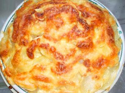 рецепт запеченной рыбы картошкой