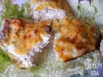 как приготовить рыбу в сметане в духовке