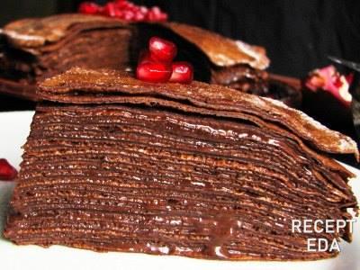 с шоколадным кремом из нутеллы