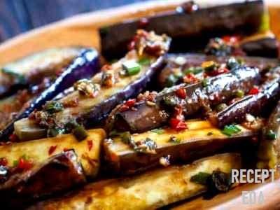 салат из баклажанов по-корейски кушать сразу