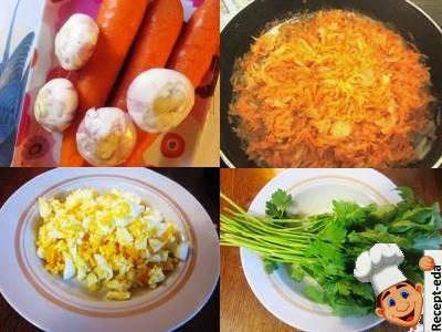салат из печени с морковью и луком