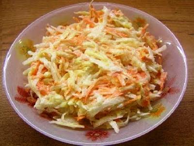 салат редька морковь яблоко