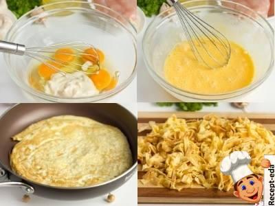 салат с куриной грудкой и грибами, рецепт