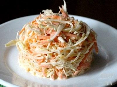 салат с редькой и морковью и яйцом