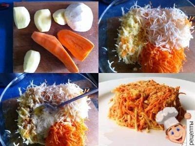 салат сельдерей яблоко морковь