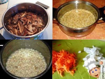 как сварить суп из сухих грибов рецепт с перловкой