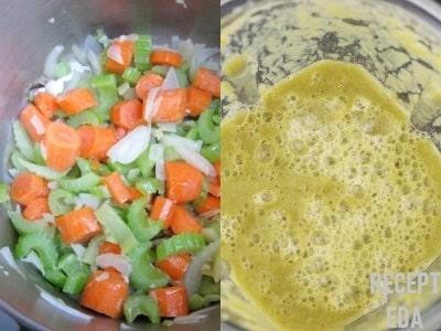 суп пюре из картофеля с морковкой
