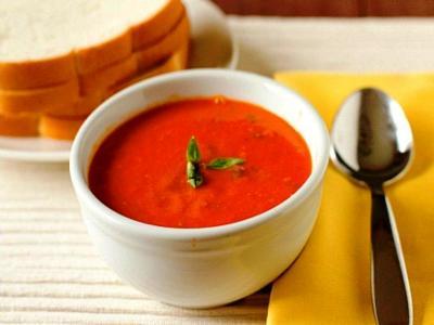 томатный суп пюре из консервированных помидоров