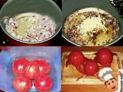 суп пюре из томатов со сливками