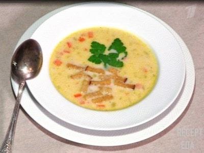 суп пюре с брокколи и грибами
