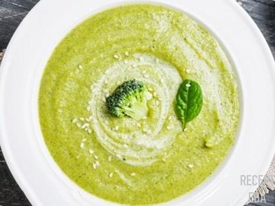 суп пюре с брокколи и кабачком