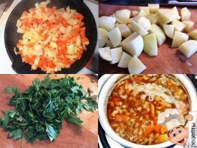 как сварить суп с перловкой и грибами
