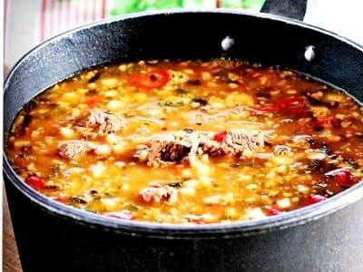 суп харчо, рецепт приготовления