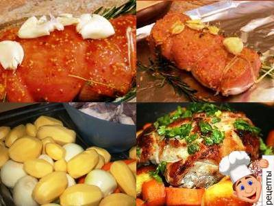 приготовление свинины в духовке