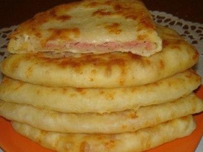 сырные лепешки из теста на кефире