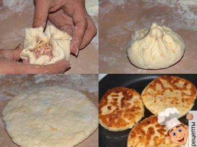 сырные лепешки на кефире