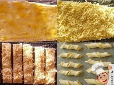сырные палочки из теста