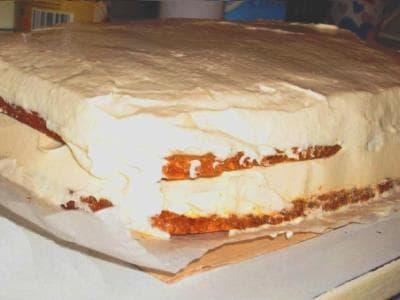 Сливочный мусс для торта, рецепт с сыром