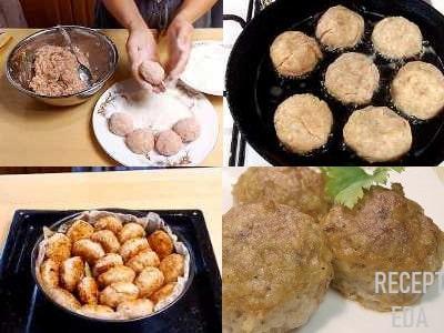 тефтели с рисом и куриным фаршем в духовке