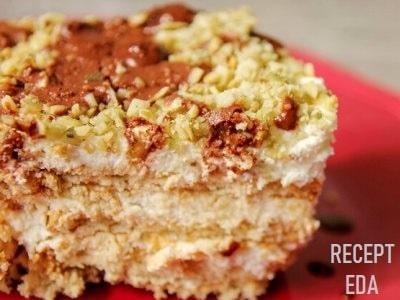 торт из печенья с маскарпоне