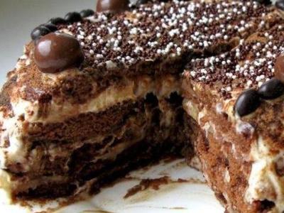 как приготовить торт из пряников, тортик из пряников