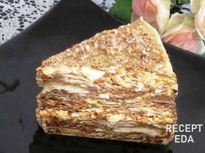 Наполеон торт легкий рецепт